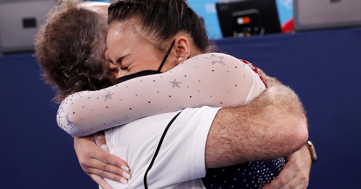 Suni Lee wins Olympic gold for U.S. in women's gymnastics all-around