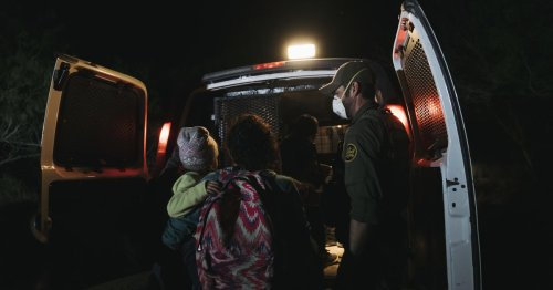 Border apprehensions remained at a 20-year high in April, but arrivals of children and families decreased