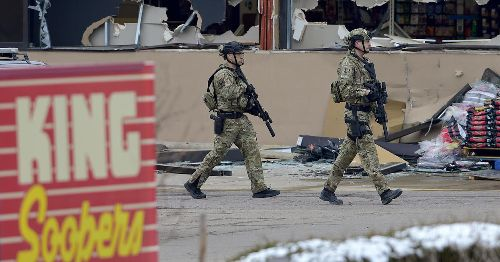 Live updates of the Colorado supermarket shooting