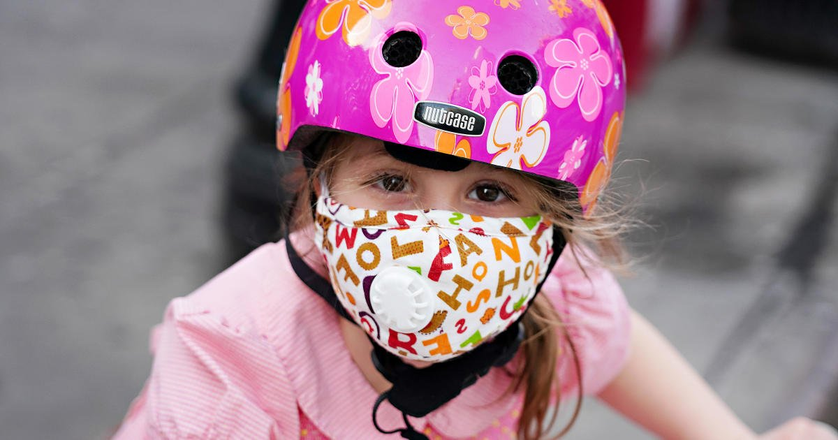 Pediatricians group recommends all children over 2 wear masks at school
