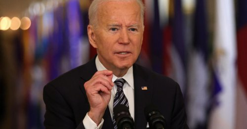 Biden condemns rise in hate crimes against Asian Americans