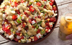 Discover corn salad