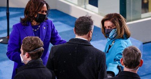 It's Biden's speech, but Kamala Harris and Nancy Pelosi will also make history