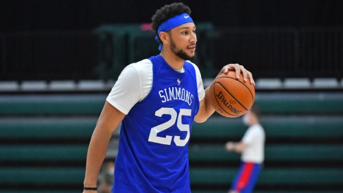 76ers kick Ben Simmons out of practice, suspend him one game for being 'a distraction'