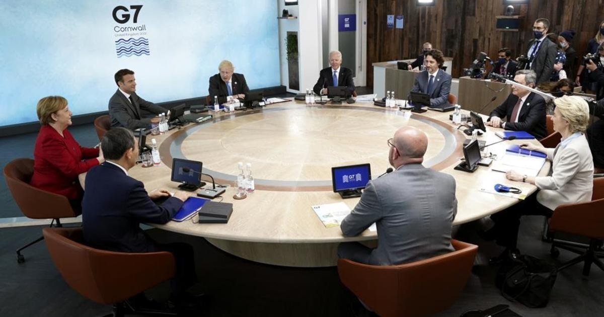 Biden and G-7 partners launch infrastructure initiative for developing countries
