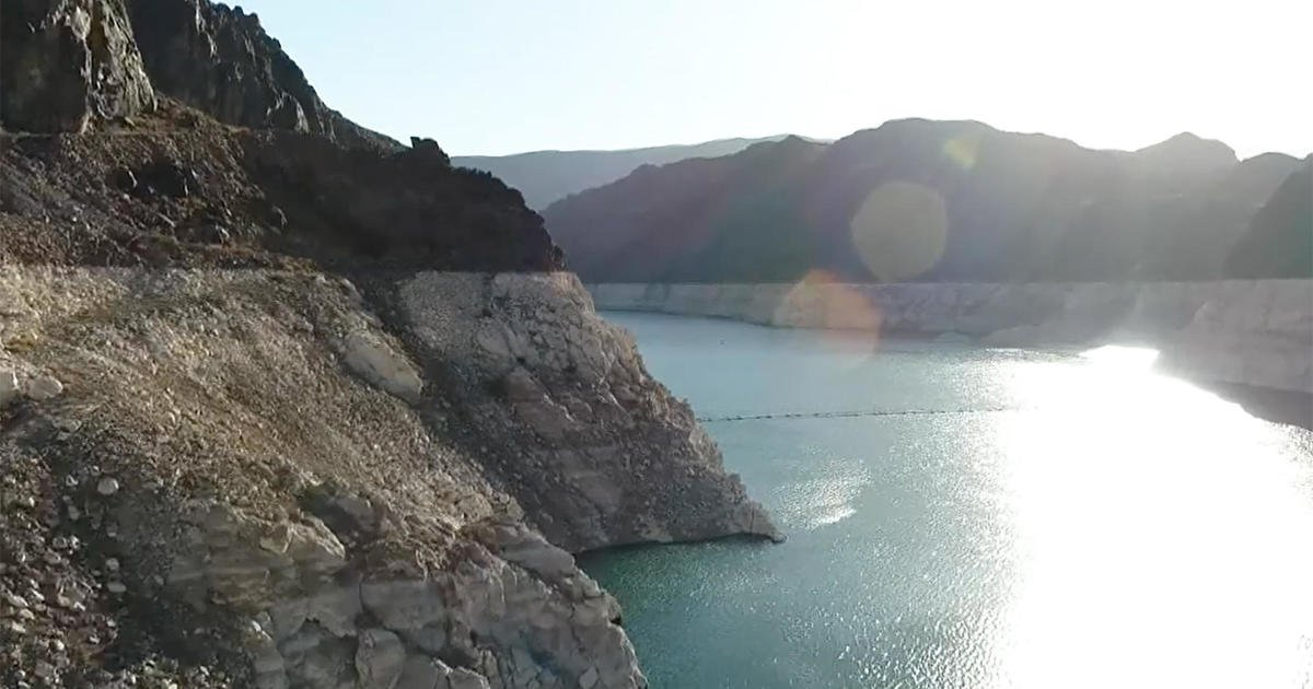 """""""Mega-drought"""" takes dramatic toll on Colorado River system that provides water to 40 million people"""