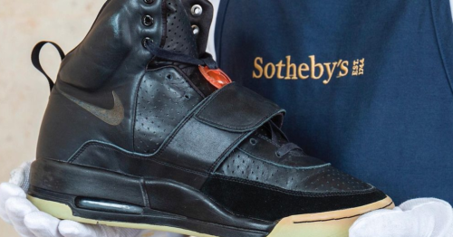 Kanye West's $1 million Yeezys could become the most expensive sneakers ever sold
