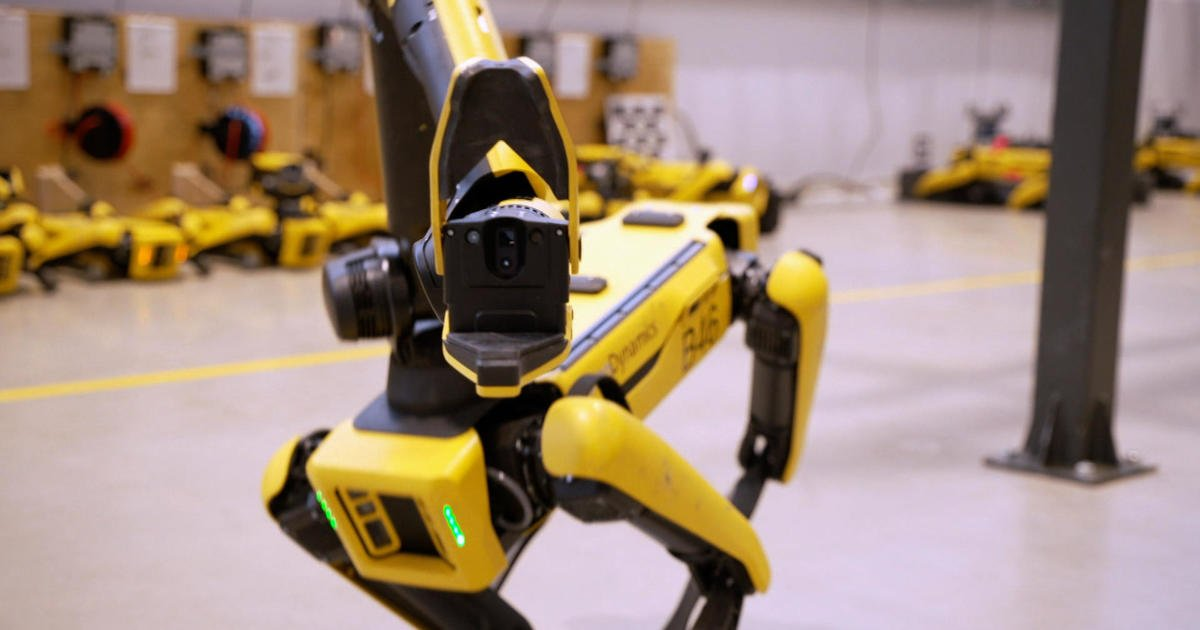 Boston Dynamics: Inside the workshop where robots of the future are being built