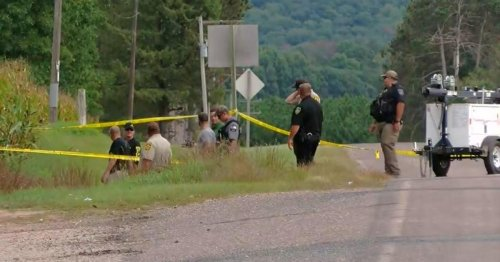 Suspect arrested after 4 people found dead inside SUV in Wisconsin cornfield
