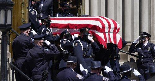 Hundreds mourn slain Boulder Officer Eric Talley at funeral