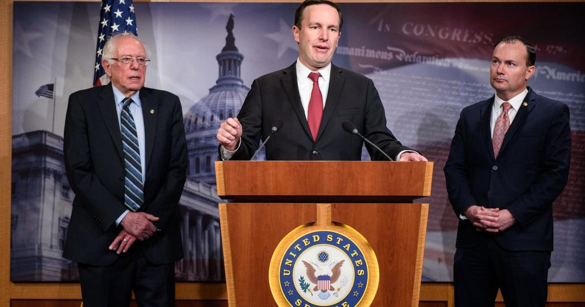 Bipartisan group of senators unveils legislation to bolster Congress' foreign policy powers