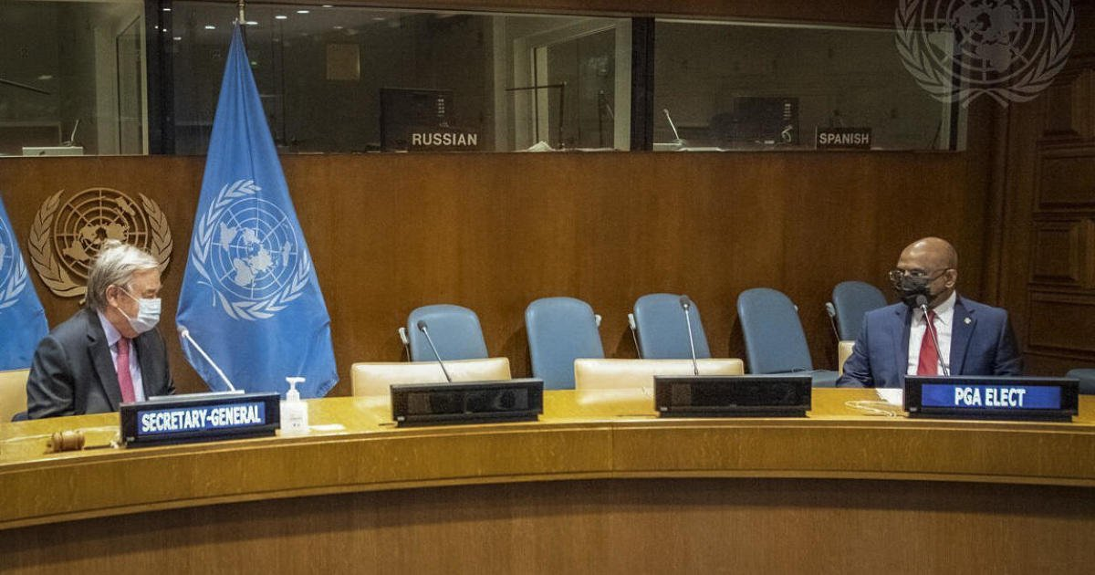 """U.S. concerned about """"superspreader event"""" at U.N. as diplomats challenge New York City vaccine requirement"""
