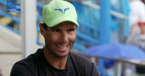 Rafael Nadal discusses overcoming his own physical and mental health issues