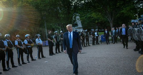 Federal judge rejects most claims against Trump, Barr and other federal officials in forceful clearing of protesters from Lafayette Square before Trump photo-op