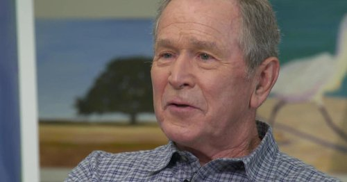 George W. Bush on painting a new vision of immigrants