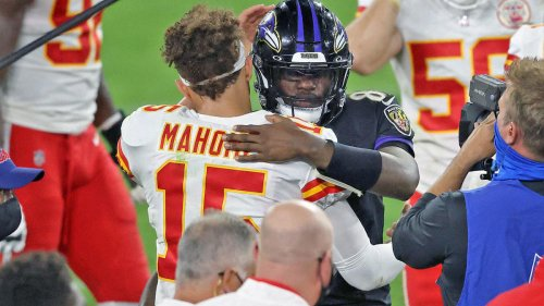 Patrick Mahomes responds after his brother gets caught on video dumping water on a Ravens fan