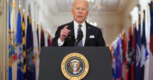 Watch Biden's first prime-time address in full
