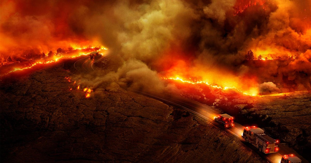 """Watch trailer for """"Bring Your Own Brigade,"""" CBSN documentary on world's wildfire crisis"""