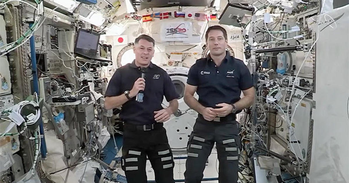 Space station astronauts welcome civilian space travel as billionaires prepare to launch