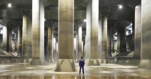 How a man-made underground cavern helps low-lying Tokyo escape flood damage