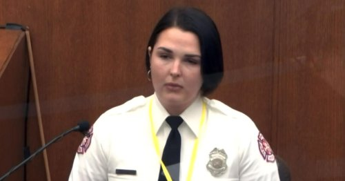 "Derek Chauvin Trial 3/30/21: Off-duty firefighter testifies she was ""desperate"" to help George Floyd"