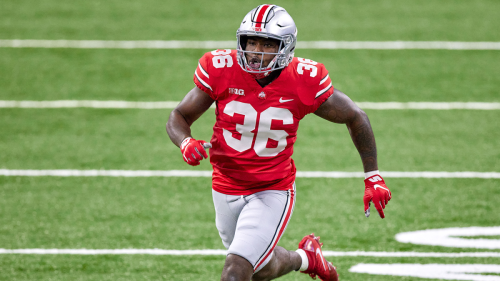 Dismissed from Ohio State, LB K'Vaughan Pope apologizes after storming off field during Akron game