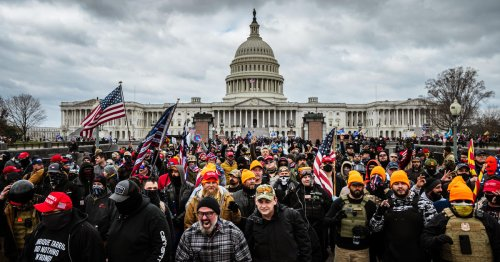 More than 540 charged so far in Capitol riot case, while approximately 300 suspects remain unidentified