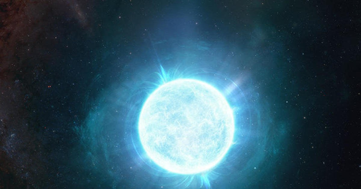 Astronomers discover record-breaking star as small as the moon but with more mass than the sun
