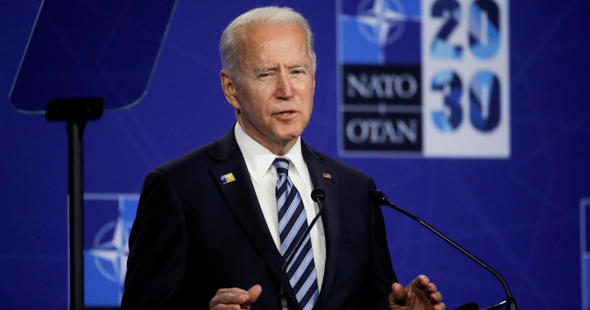 Biden declines to preview what he wants from Putin in brief press conference