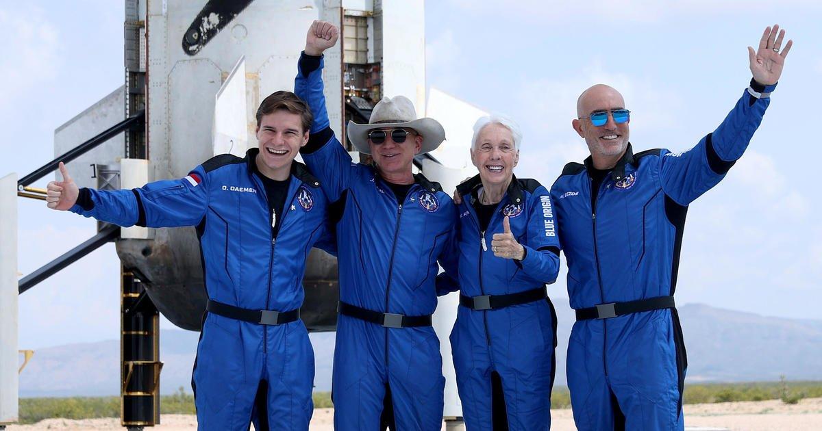 Jeff Bezos and Blue Origin complete successful spaceflight