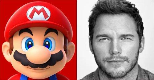 BossLogic Turns Chris Pratt Into Mario for the Super Mario Bros. Movie
