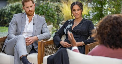 Meghan and Harry on how race plays a role in royal family