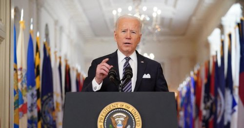 Biden directs all states to make all adults eligible for COVID-19 vaccine by May 1