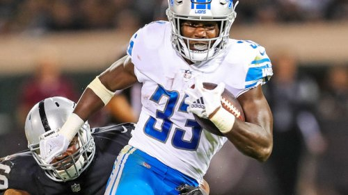 Lions to waive running back, former second-round pick Kerryon Johnson, per report