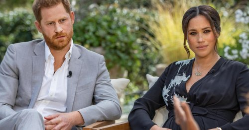 Harry and Meghan detail royal struggles, from discussions of baby's skin tone to suicidal thoughts