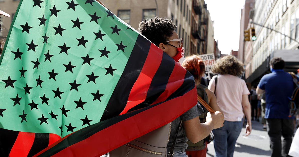 More Americans support making Juneteenth a national holiday than oppose the idea, poll says