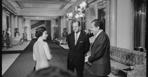 """Prince Philip's apology letter to Richard Nixon for """"lame"""" dinner toast revealed"""