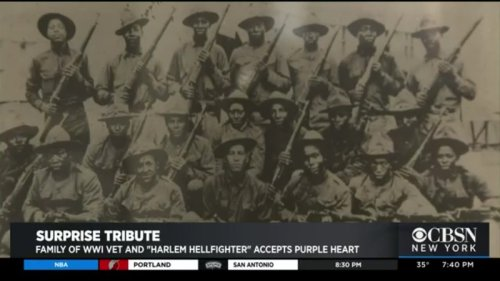 Family Of Soldier From Famed 'Harlem Hellfighters' Receives Long-Awaited Honor From World War I