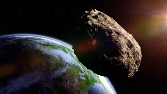 Discover asteroid coming