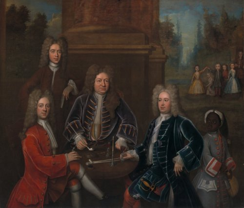 Who Is the Enslaved Child in This Portrait of Yale University's Namesake?