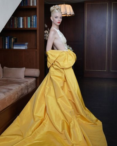 Anya Taylor-Joy Turned Up the Glamour at the 2021 Emmys