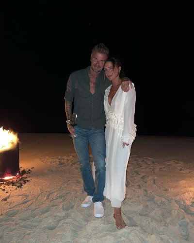 Victoria Beckham Celebrated Her 47th Birthday at a Miami Bonfire with David Beckham