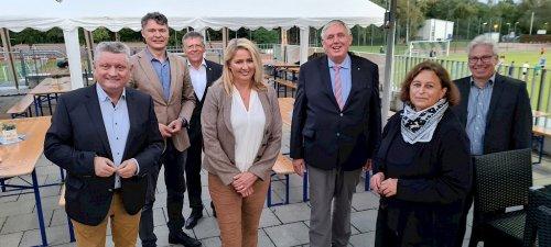 NRW-Minister Karl-Josef Laumann zu Gast in der Neusser Nordstadt