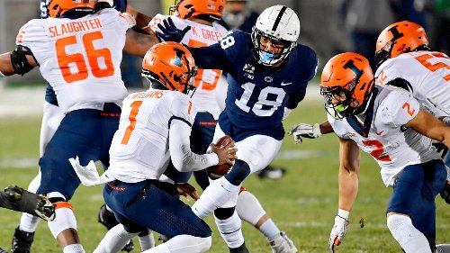 As an NFL Draft hopeful, Penn State's Shaka Toney carries consistency, production to the next level