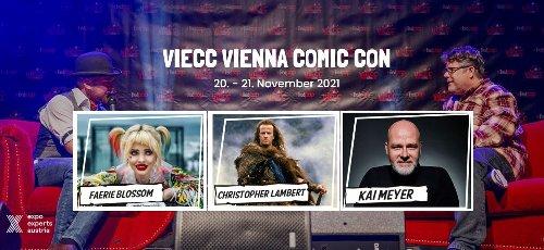 Vienna Comic Con 2021 – Erste Gäste sind bereits bestätigt