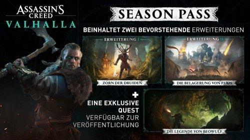 """Assassin's Creed Valhalla – Erste große Expansion """"Zorn der Druiden"""" verspätet sich in den Mai"""