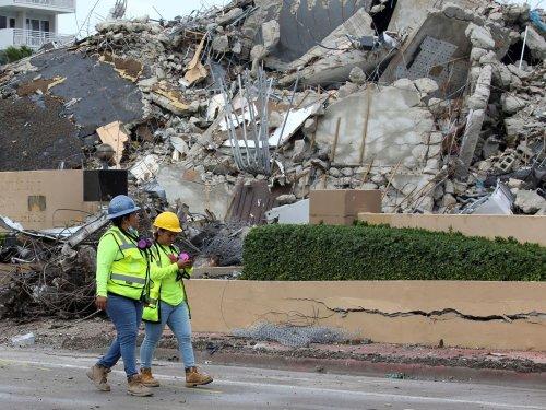 États-Unis : Arrêt des recherches après l'effondrement de l'immeuble de Miami