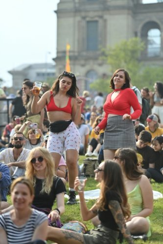 Au Kaléidoscope festival, les Londoniens savourent le retour de la musique live