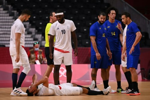 JO-2020/Handball: les Bleus enchaînent contre le Brésil