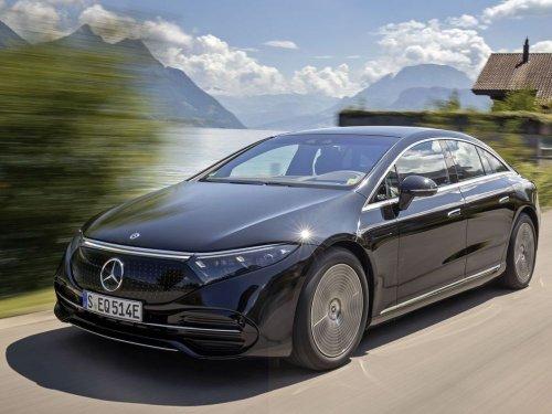 Mercedes-Benz: l'EQS va plus loin qu'une Tesla, mais moins vite